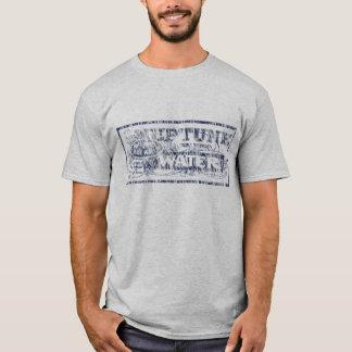Verwittertes Neptun-Wasser T-Shirt