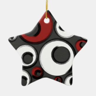 Verworrene Gamaschen Keramik Ornament