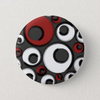 Verworrene Gamaschen Runder Button 5,1 Cm