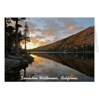 Verwüstungs-Wildnis, CA Karte