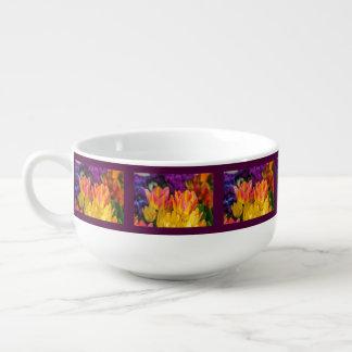 Verzaubernde Tulpen Große Suppentasse
