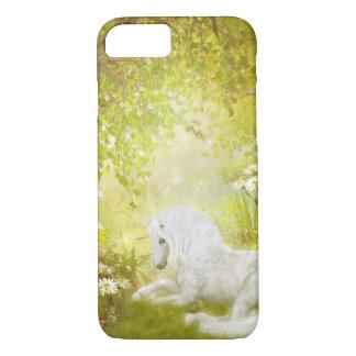 Verzauberte Einhorn-Waldmagische iPhone 8/7 Hülle