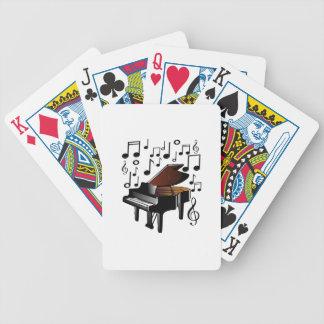 Verzauberte Melodie Bicycle Spielkarten