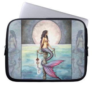 Verzauberte Seemeerjungfrau-Laptop-Hülse Computer Sleeve Schutzhülle