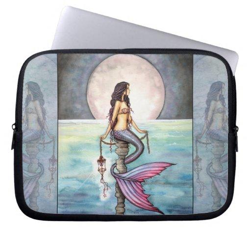 Verzauberte Seemeerjungfrau-Laptop-Hülse Computer Schutzhülle
