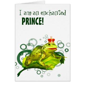 Verzauberter Prinz! Karte
