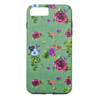 Verzauberter Wald mit Blumen iPhone 8 Plus/7 Plus Hülle