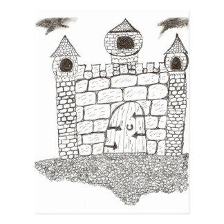 Verzaubertes Steinschloss Postkarte