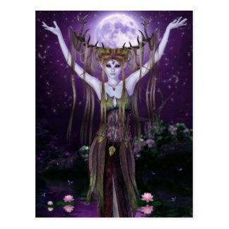 Verzauberungen der Nachtgeschöpf-Postkarte Postkarte