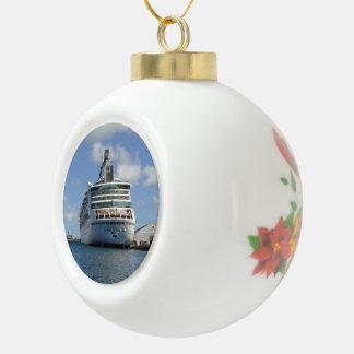 Verzauberungs-Heck Keramik Kugel-Ornament