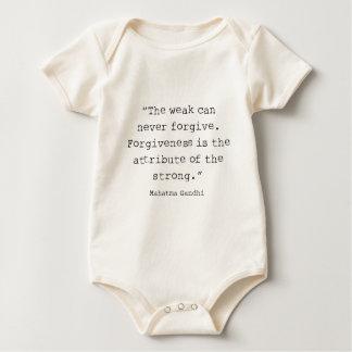 Verzeihen ist baby strampler