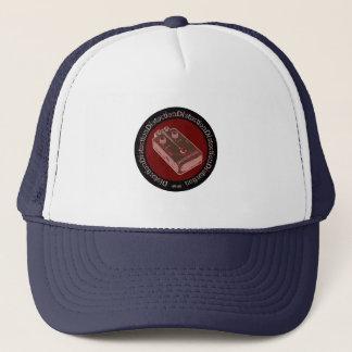 Verzerrungs-Pedal-Rosa-Lachse/Rot Truckerkappe