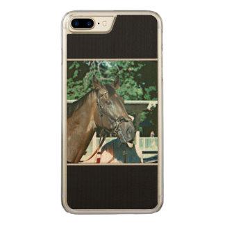 Verzichten Sie Rennpferd 1977 Carved iPhone 8 Plus/7 Plus Hülle