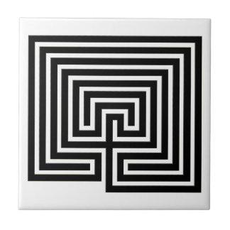 Verzieren Sie Ihr Zuhause mit einem Labyrinth - Keramikfliese