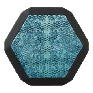 verziert Blau Schwarze Bluetooth Lautsprecher