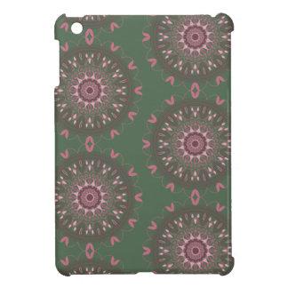 Verzierte Boho Mandala-Olive iPad Mini Hülle