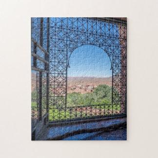 Verzierte Fenster-Dekoration Puzzle