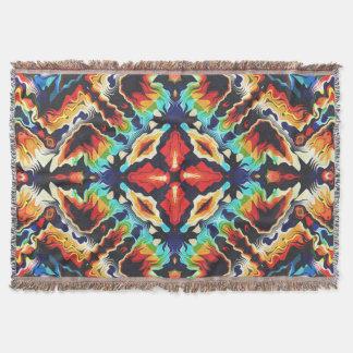 Verzierte geometrische Farben Decke