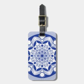 Verzierter Boho Mandala Kofferanhänger