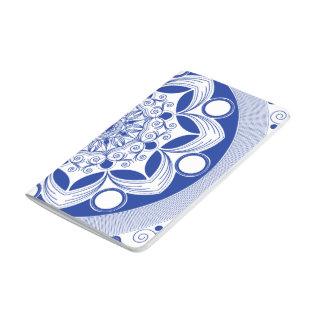 Verzierter Boho Mandala Taschennotizbuch