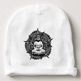 Verzierter Buddha Babymütze