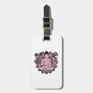 Verzierter Buddha Gepäckanhänger
