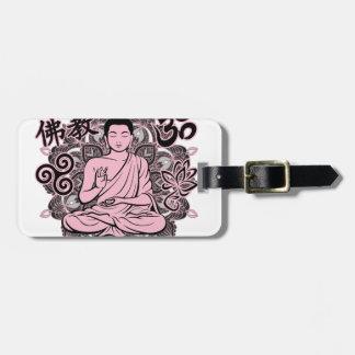 Verzierter Buddha Kofferanhänger