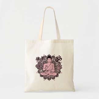 Verzierter Buddha Tragetasche