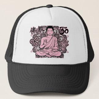 Verzierter Buddha Truckerkappe