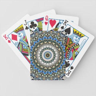 Verzierter bunter Mandala Bicycle Spielkarten