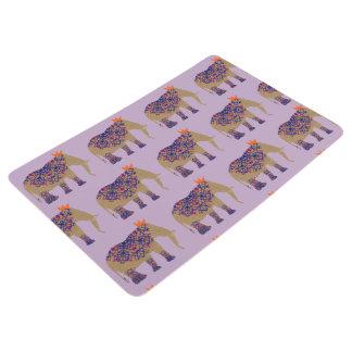 Verziertes Elefant-niedliches Whimsy hübsches Bodenmatte