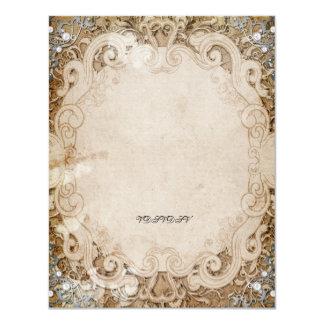 Verziertes Fairytalestorybook-Brautparty laden ein Karte