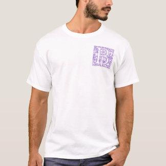 "Verziertes Monogramm ""B"" T-Shirt"