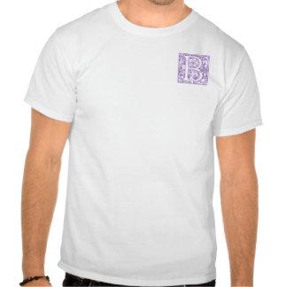"""Verziertes Monogramm """"B"""" Hemd"""
