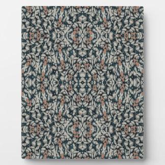 Verziertes Muster-Mosaik Fotoplatte