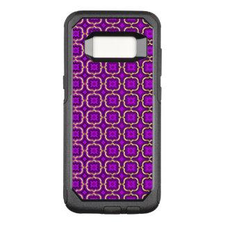 Verziertes Stachelquatrefoil (Farbe justierbar) OtterBox Commuter Samsung Galaxy S8 Hülle