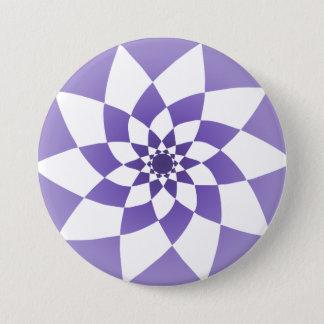 Verzierung 2 runder button 7,6 cm