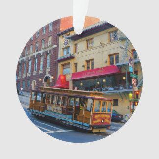 Verzierung der San Francisco Drahtseilbahn-#5 Ornament