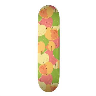Verzierung mit Äpfeln 18,1 Cm Old School Skateboard Deck