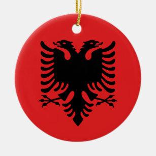 Frohe Weihnachten Albanisch.Albanisch Ornamente Zazzle De