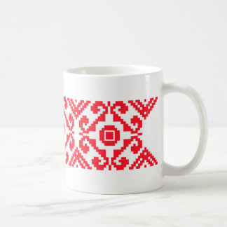 Verzierung P Kaffeetasse