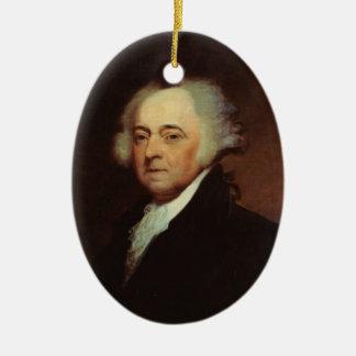 Verzierung Präsidenten-John Adams Weihnachtsbaum Ornamente