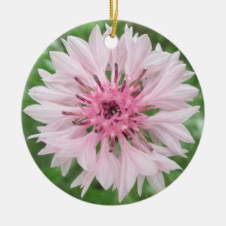 Verzierung - Rosa/der Knopf des rosa Junggesellen Keramik Ornament