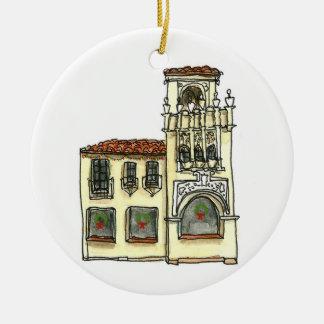 Verzierung San Carlos Kalifornien - Keramik Ornament