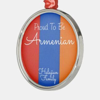 Verzierung   stolz, armenisch zu sein silbernes ornament
