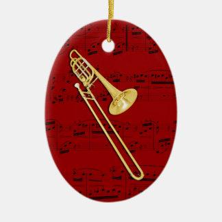 Verzierung - Trombone (Baß) - wählen Sie Ihre Keramik Ornament