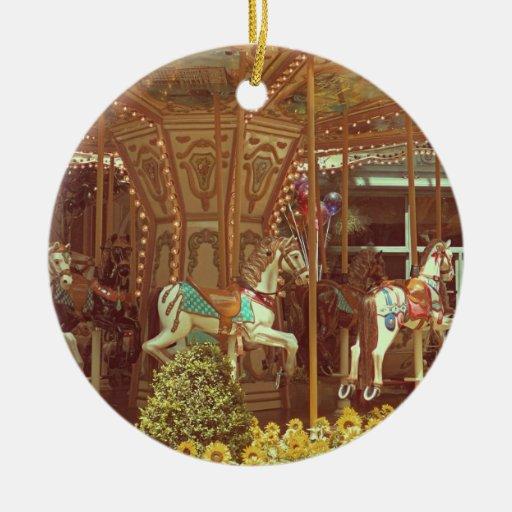 Verzierung - Vintages Karussell Weihnachtsbaum Ornamente