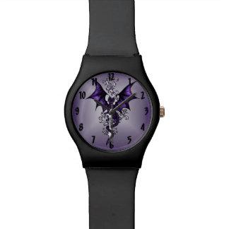 Verzierungs-Drache Uhr