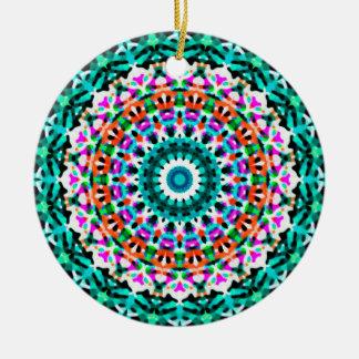 Verzierungs-geometrische Mandala G405 Keramik Ornament