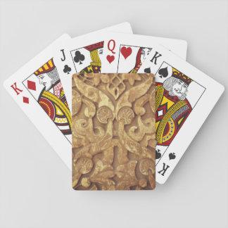Verzierungs-klassische Spielkarten